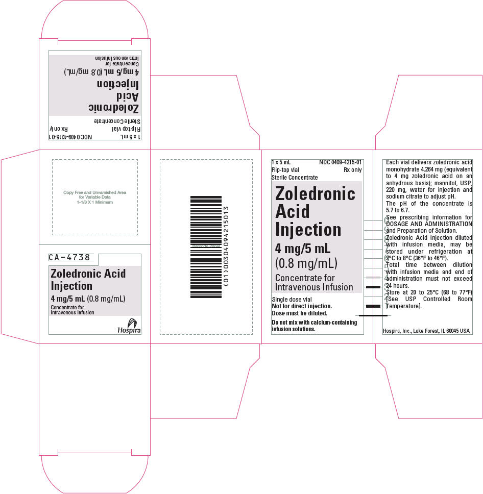 Principal Display Panel - 4 mg/5 mL Vial Carton